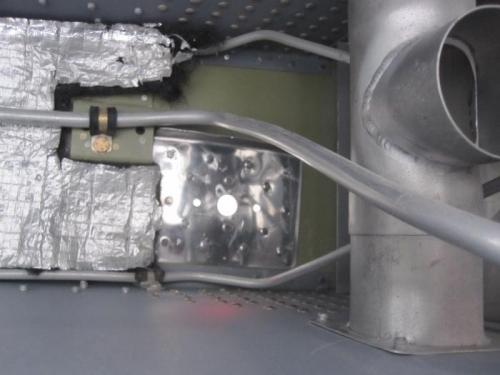 Transponder antenna doubler installed