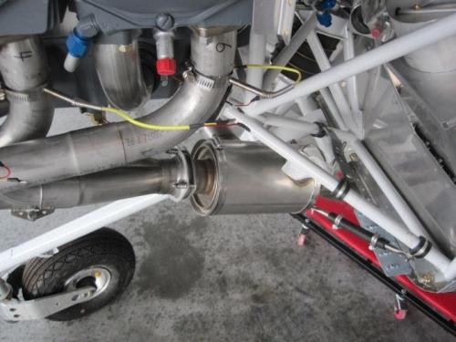 Left Exhaust Stack
