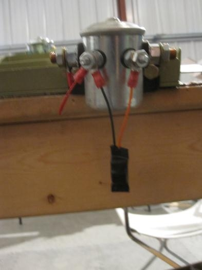 OVM-14 wired to the contactor