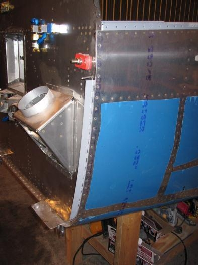 Hinges Riveted and Bottom Plate Fabricated