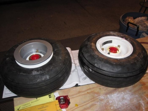 Main Wheels and Tires Assembled