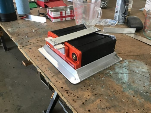 Battery Box Side View
