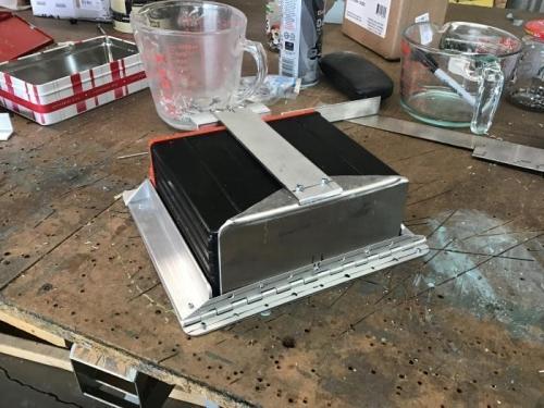 Battery Box Rear View