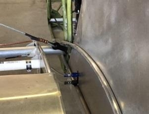 Pitot & Static Feed-Thru in Side Panel