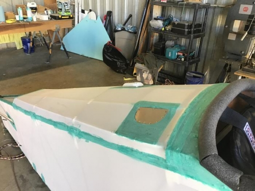Grip Cutout in Fabric