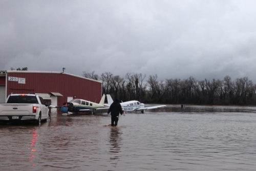 Airport Flooding