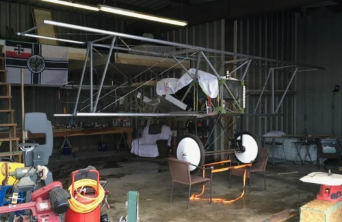 Fokker On Chairs