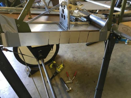 Bottom Panel Side Flexing Cuts