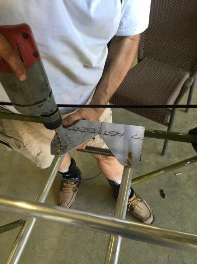 Stirrup Installation