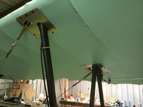 Left Upper Wing Trim Plates