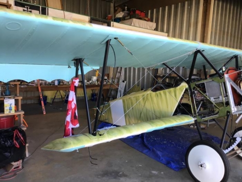 Front Side Wing & Fuselage