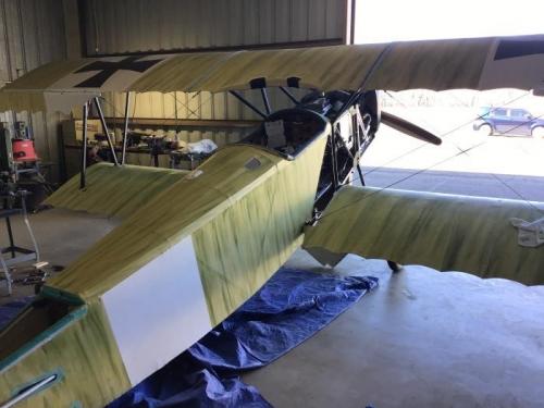 Right Side Wings & Fuselage