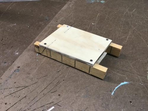 Louver Forming Jig