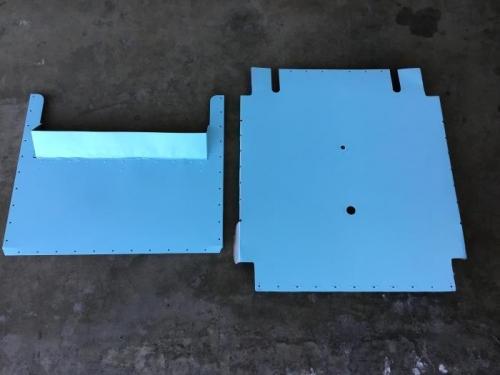 Bottom Panels Painted