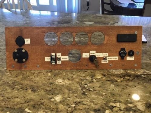 Instrument Panel Stencils