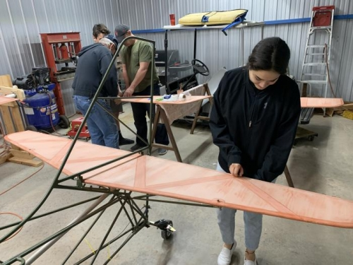 Nohelia attaching bolts for the horizontal stabilizer