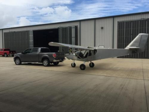 Towing to new hangar