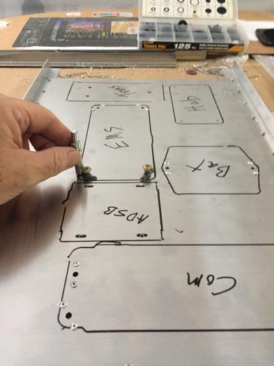 Dynon avionics layout