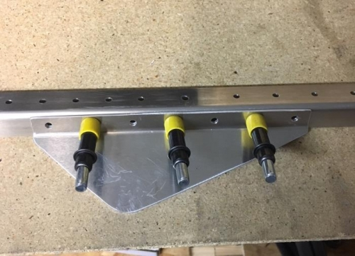 Fitting Angle Doubler updrilled to #20