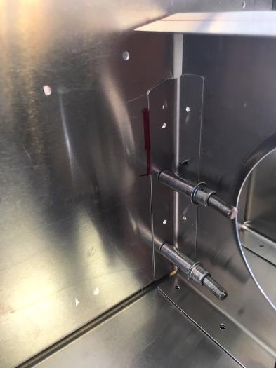 inboard reinforcement of fwd sliding seat base