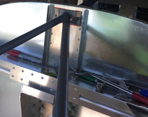 mount-to-cabin frame drilled