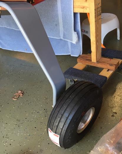 Wheel mounted!