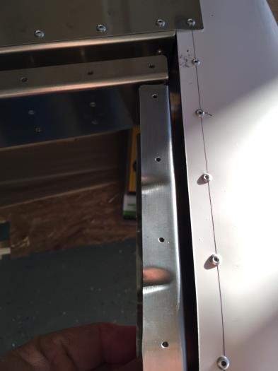 test-fit of hinge/tip rib to rudder