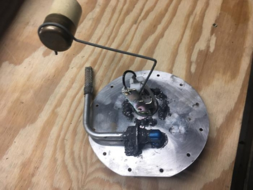 R. Fuel Tank - PU and Sender