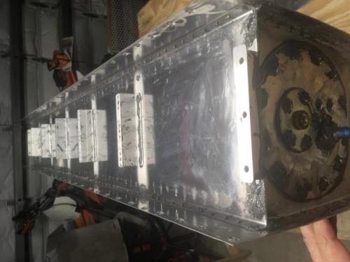 R. Fuel Tank Baffle Installed