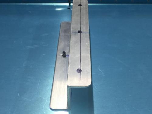 Spar Side of one Z-Bracket