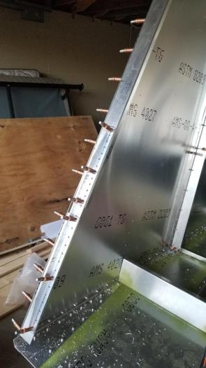 Fabricated extrusion