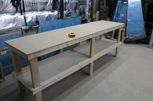 Long Work Table