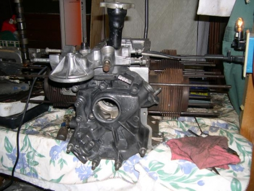 Front housing