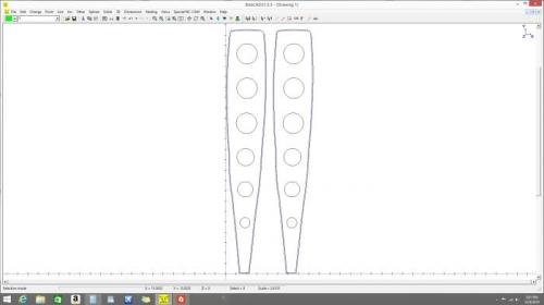 CAD design for elevator tip inserts