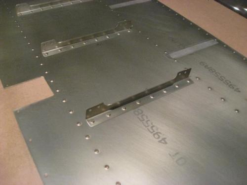 Elevator rib pieces