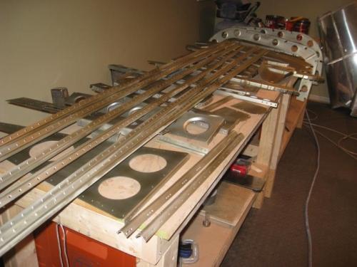 Wash primed alcad parts