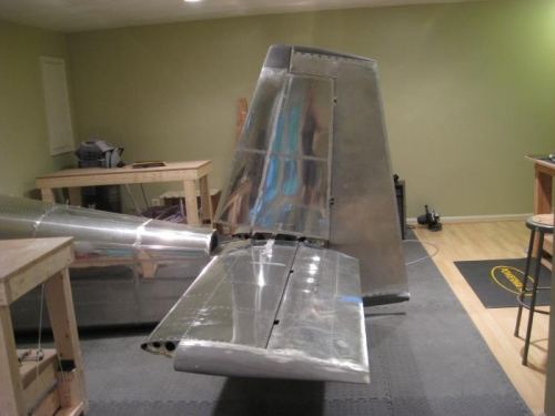 Full empennage
