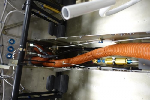 More correct hose routing