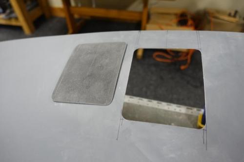 Door and hatch opening