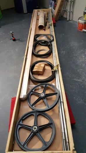 Complete kit incl wheels