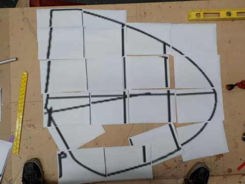 Horizonal stabilizer plan