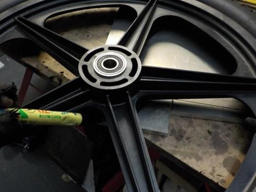 Huffy wheel