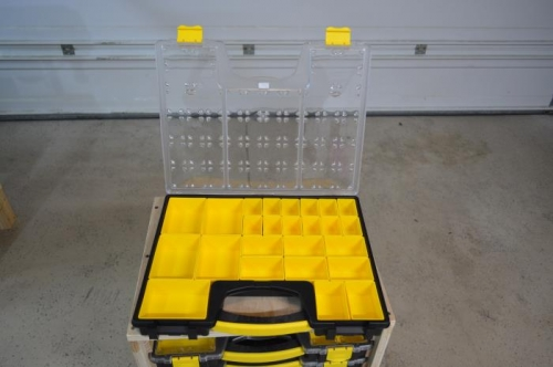 New organizer with removable trays