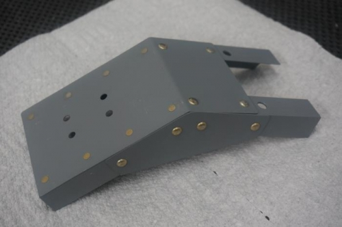 E-bus fuse block bracket for revised location