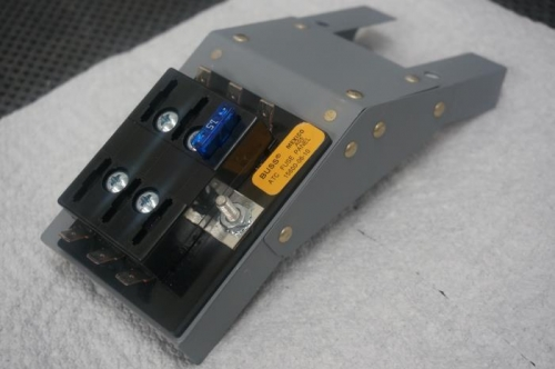 With the fuse block in place