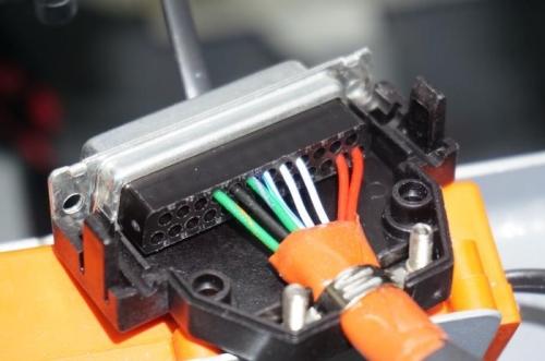 VP-X Pro J1 connector pinout