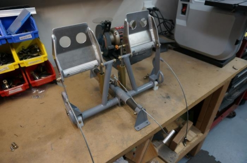 Rudder pedal assembly