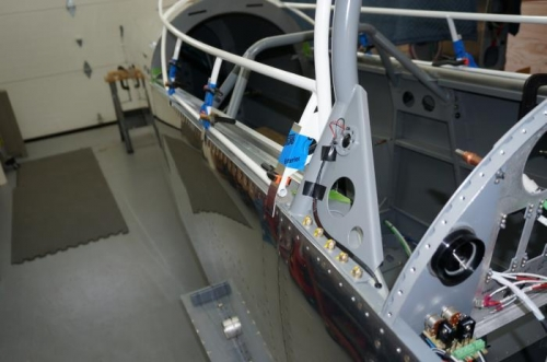 Fitting the canopy