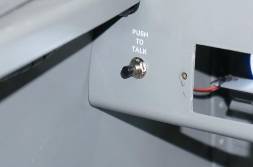 Backup PTT switch lable