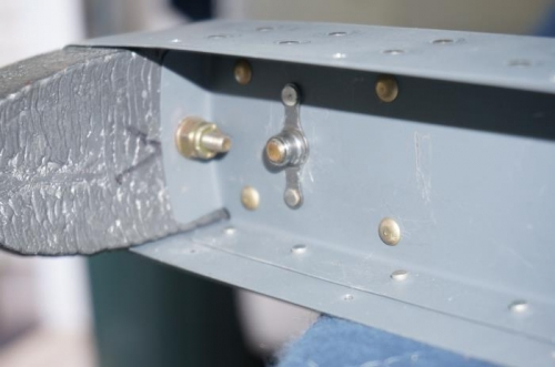 Nut plate for elevator balance weight